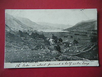 Mardale: View Of Haweswater From Castle Hill - Rare Early Real Photo Postcard!