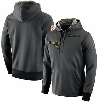 New England Patriots Salute to Service Hoody 2016