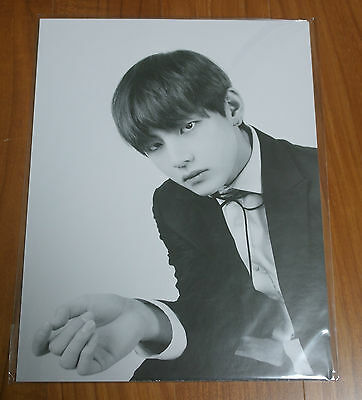NEW CONDITION BTS Butterfly Dream Exhibition Premium Postcard Taehyung V Photo
