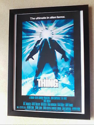 The Thing (1982 film) John Carpenter movie poster framed print