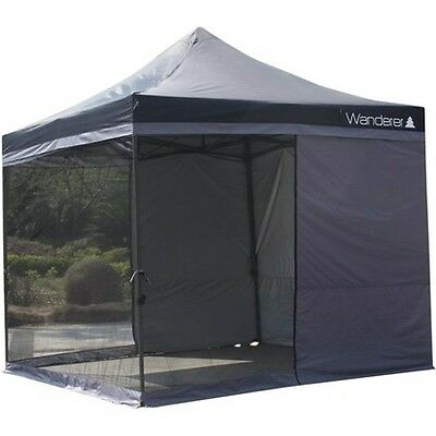 Wanderer Ultimate Heavy Duty Gazebo Double Solid Wall Kit - 6m