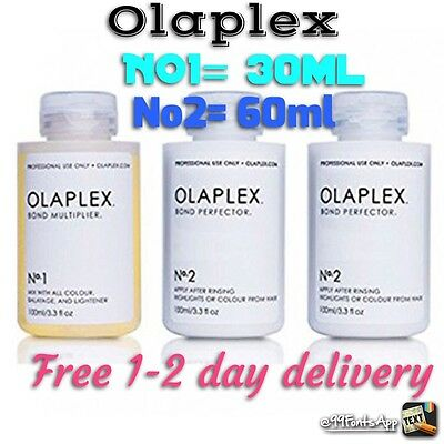 Olaplex Treatment 1&2 30/60ml EXTREMELY Fast Delivery