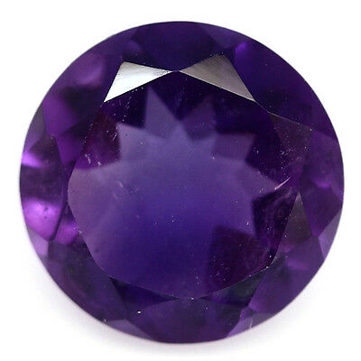 3.35 Ct Natural! Purple Clr Change To Pink African Amethyst Round