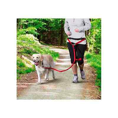 Trixie Dog Hands Free Jogging Waist Belt with lead  Size M-L