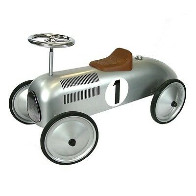 Great Gizmos Classic Racer-Silver Kids Ride On Awesome Quality Brand New
