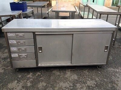 Stainless Steel Mobile Counter(cafe,restaurant,catering)