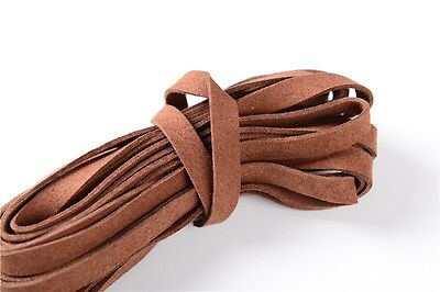 Coffee Real Leather Cord Ito Sageo For Japanese Katana Wakizashi Tanto sword New