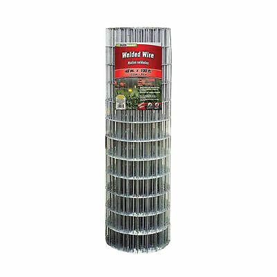 YARDGARD 308312B 48 Inch by 100 Foot Galvanized Welded Wire Fence 1 NO TAX