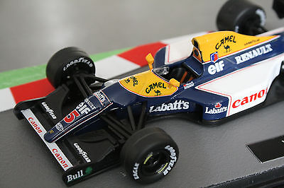Formula 1 car collection Williams FW14B Decals Labatts Camel F1 1:43 Mansell