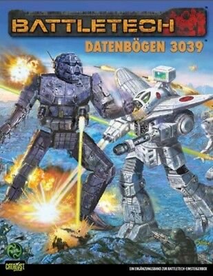 BattleTech Datenbögen 3039 (Deutsch) US45001 Ulisses Spiele Catalyst Game Lab