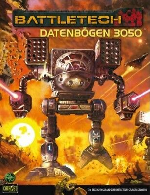 BattleTech Datenbögen 3050 (Deutsch) US45002 Ulisses Spiele Catalyst Game Lab