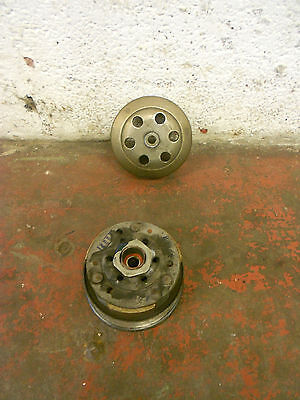Kymco Agility 50 Rear belt pulley clutch cvt driven complete drum shoes