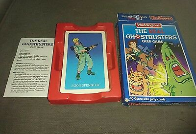 Waddingtons The Real Ghostbusters Giant Card Game