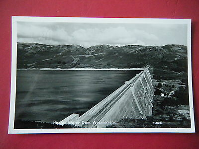 Mardale: Haweswater Dam - Scarce Real Photo Postcard!