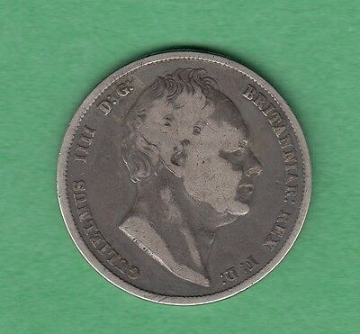 1836 Great Britain Half Crown Silver Coin -  William IV -