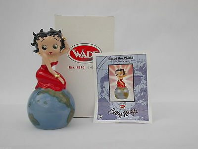 Wade Betty Boop C&s Collectable Figurine Top Of The World Limited Edition