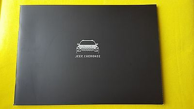 Jeep Cherokee Longitude Overland Plus paper brochure catalogue July 2016 MINT