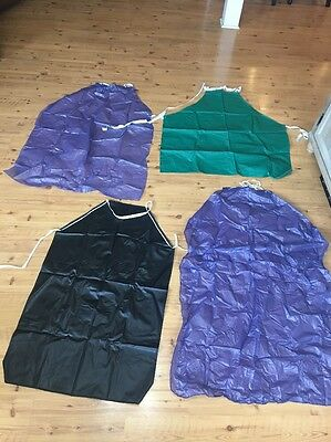 Lot Of 31 Lab Aprons Black Safety Small Large Medium Chemistry
