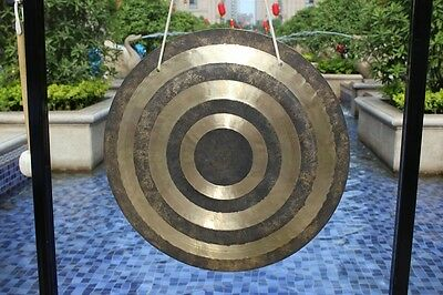 """30"""" Sun wind gong/ feng gong with mallet come from MK gong power"""