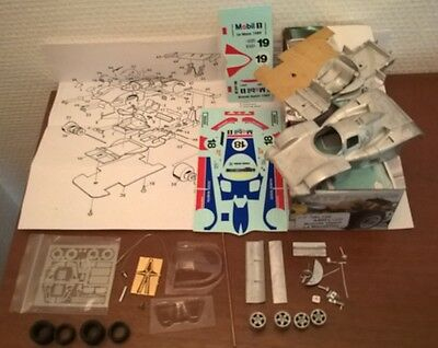 Aston Martin AMR1 Le Mans 1989 #18-19 1/43 Kit montaggio Limited Rare SMTS