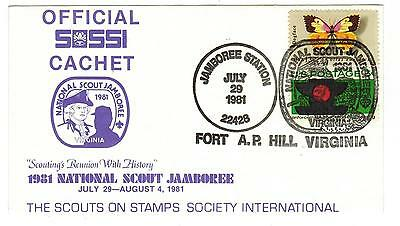 USA - 1981 National Scout Jamboree SOSSI Official (Lot 170214-4)