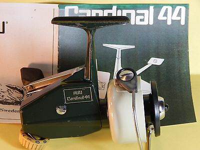 Collectible Mid '70 Vintage ABU Cardinal 44 spinning reel-used/excellent
