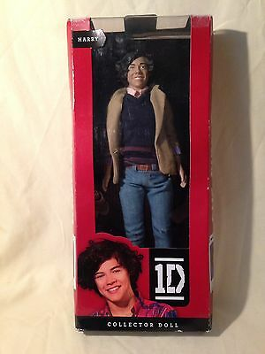 """Harry Styles One Direction 1D Collector Doll - Rare Boxed 2011 12"""" Figure"""