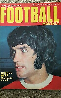 Chales Buchans Football Monthly Magazines 1970 &1971 x 9