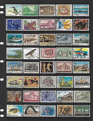 GREECE stamp selection.(ref.440)