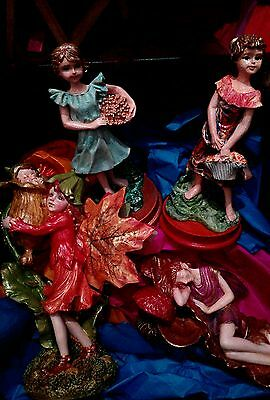 Mystical Folk.  hand painted figures. Job lot. 4 in total.RRP £60+