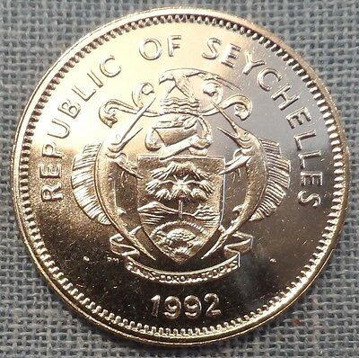 Seychelles  1992  1 Rupee Foreign Coin  Km#50.2  Unc