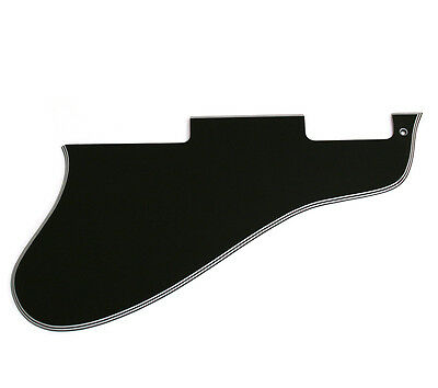 5-ply Black Long Pickguard for Gibson ES-335® Guitar PG-0813-037