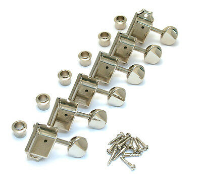 Gotoh Nickel Staggered Post Vintage Tuners for Strat/Tele® Guitar TK-7880-001