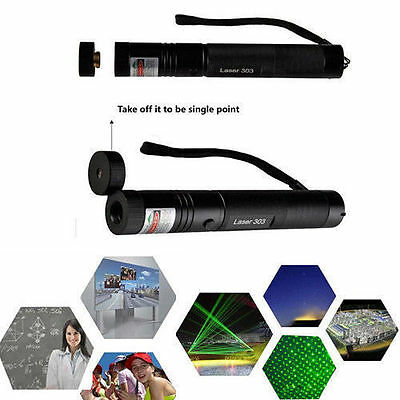 New Edition Green Laser Light Pen Lazer Beam High Power