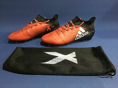 Adidas X 16.1 Fg Red/white/core Black Size 9 Football Boots