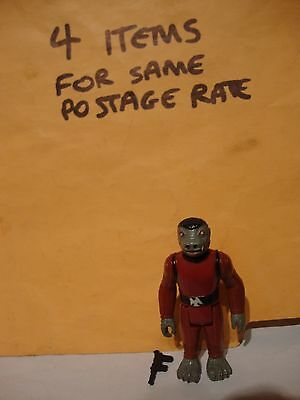 Vintage Star Wars NICE TINY WEAR Snaggletooth Cantina Figure Complete Repro
