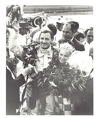 Original Press Photo 1966 Graham Hill victory Indianapolis 500-Mile Race