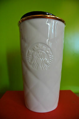 STARBUCKS Tumblers QUILTED Double Wall Traveler