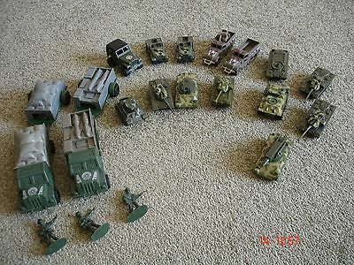 Toy Tanks and Toy Military Vehicles Bungle