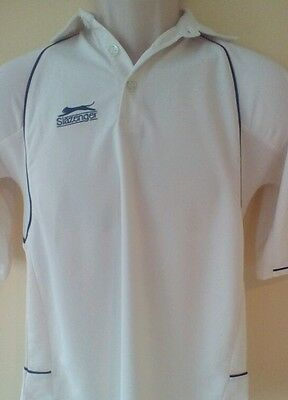 Slazenger cricket shirt, size M Boys