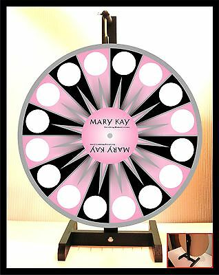 "Prize Wheel 18"" Spinning Tabletop Portable Mary Kay"
