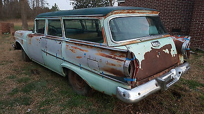 1958 Edsel Villager 6 Passenger Wagon 1958 Edsel Villager 6 passenger Station Wagon One of One known to exist!