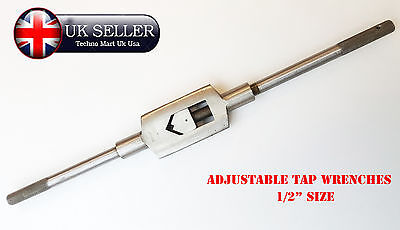 """3/16"""" - 1/2""""""""  M5-M12  Adjustable Tap Wrench Steel Body"""
