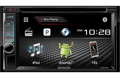 KENWOOD DDX393 D-DIN DVD TOUCH SCREEN ddx-393