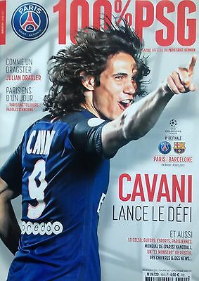 2017 PARIS SAINT GERMAIN PSG v BARCELONA CHAMPIONS LEAGUE PREVIEW MAGAZINE