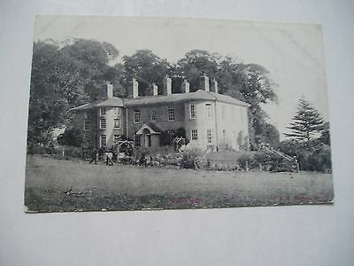 old postcard of dalby hall