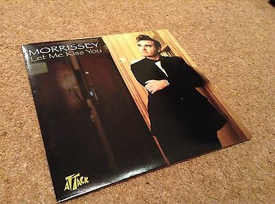 "Morrissey - Let Me Kiss You - 7"" Vinyl - Unplayed - The Smiths"