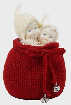 """Gorgeous New Snowbabies """"surprise For Santa"""" Figurine - Sealed In Box"""