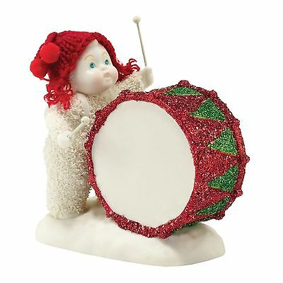 """Gorgeous New Snowbabies """"you've Got The Beat, Baby"""" Figurine - Sealed In Box"""