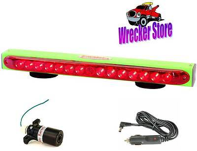 """RV TowMate 22"""" Limelight WIRELESS TOW LIGHT with 7 way flat blade RV transmitter"""